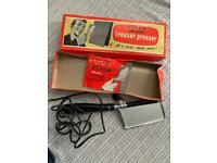 Hand held Pifco electric trouser press vintage