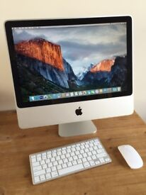 Apple iMac - Office Installed - wireless keyboard and mouse