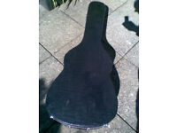 DEAN ACOUSTIC HARD SHELL GUITAR CASE.DREADNOUGHT