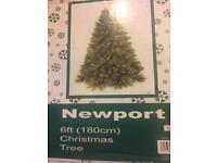 Newport 6ft Christmas tree