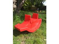 Flexible flyer red see-saw