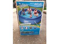 10ft quick set ring pool
