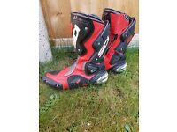 Sidi motorcycle boots size 9
