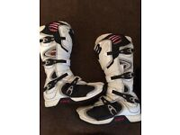 Mx kit Boots helmet pants top and armour