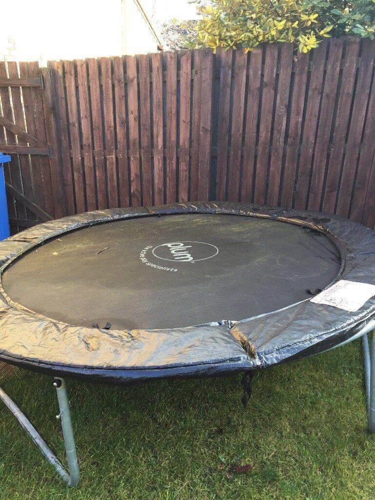 8ft Plum Circular Trampoline