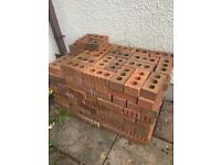 Reclaimed red face bricks - Approx 170 bricks
