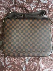 Almost new Unisex LV style messenger bag