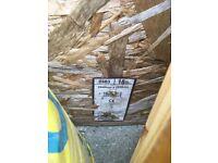 OSB3 board 2440x1220 sheet, 18mm thick