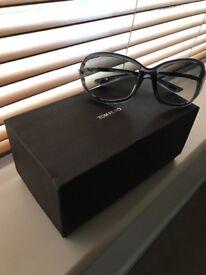 Women's Tom Ford Whitney Oversized Soft Round Sunglasses