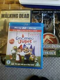 2 dvds and 1 blu ray. Look