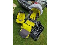 Graco travel system inc car bases x2