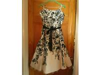 Nearly new condition floral Bhs dress size 16 perfect for Christmas.