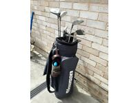 Howson golf clubs and bag