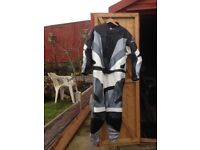 two piece motor cycle leathers