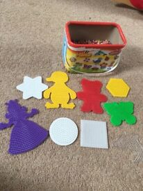 Hama Beads and Boards