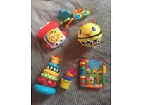 Bundle baby toys, fisher price phone etc