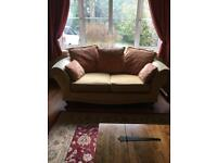 Matching 3 Seater, 2 Seater Sofa & Footstool