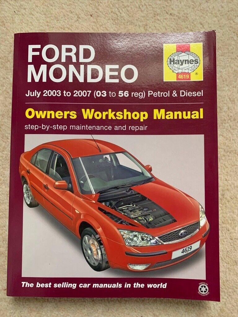 Repair Manuals & Literature Ford Mondeo Petrol & Diesel 03 to 56 ...