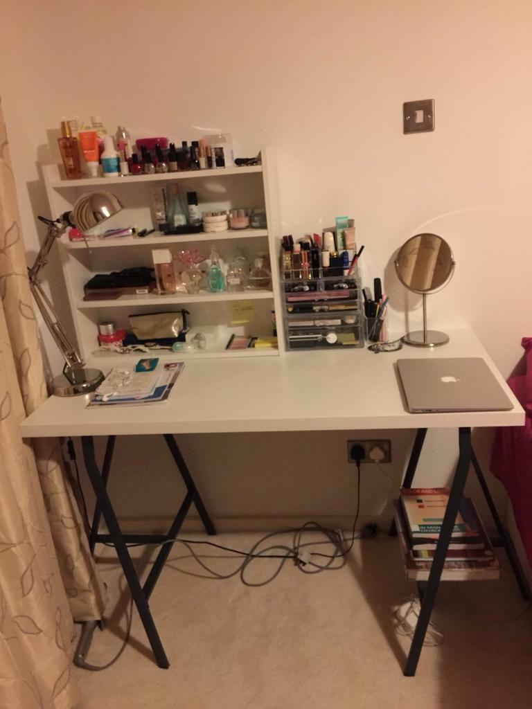 Ikea Desk Table Top Shelf