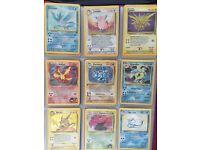 Very rare Pokemon cards good condition