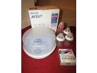 Baby Philips Avent Microwave Steam Steriliser