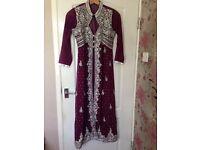Beutiful size 12 Pakistani dress - ONLY £45