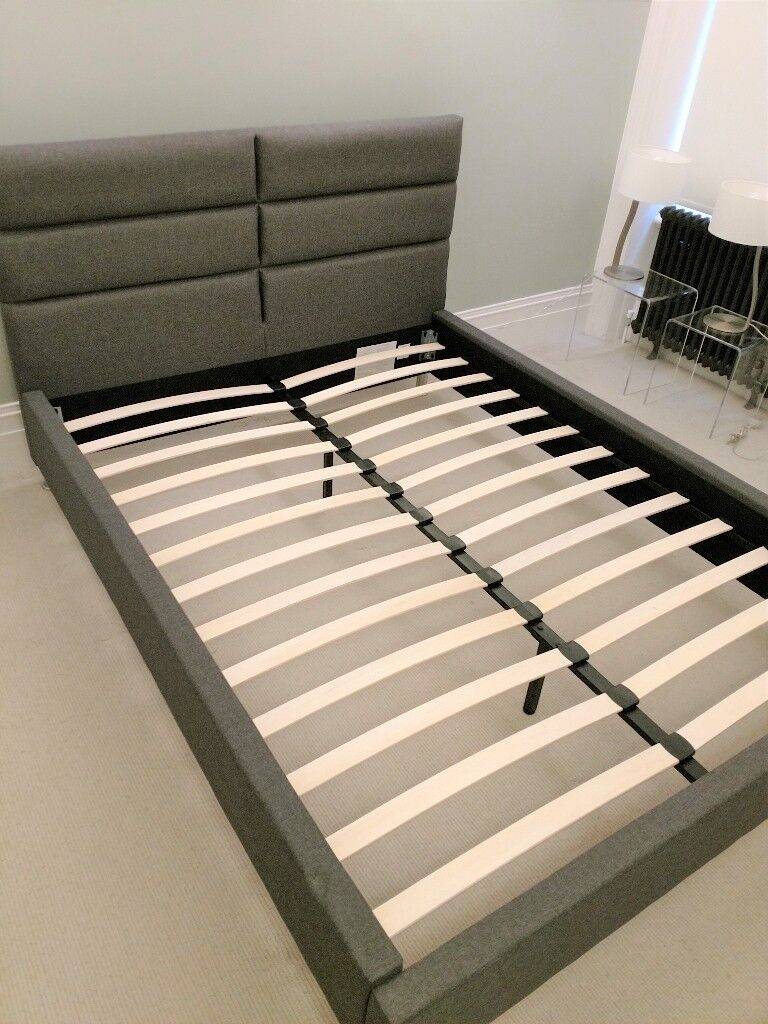KING SIZE BED FRAME WITH MATTRESS - BOTH NEW, NEVER USED - CENTRAL ...