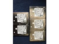 TOSHIBA Hard Drive 500GB MQ01ACF050 7mm SATA 2.5 Thin