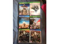 Limited edition Xbox one and Ps4 games