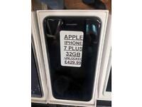 IPHONE 7 PLUS 32GB UNLOCKED PICK UP NOW