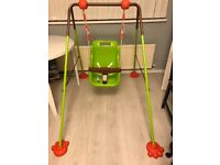 Baby Swing for Indoor or Outdoor Use