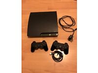 PS3 Console with Controllers, Leads, PS3 Headset & 7 Games