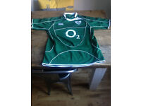 Irish Rugby Jersey (Not Current). Medium. Worn Once - Perfect Condition £15.