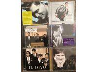 Michael Buble / Il Divo / Susan Boyle Cds