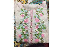 Brand new designer silk kurta duppta