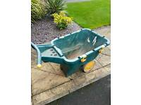Large garden wheelbarrow