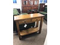 2 drawer console table * free furniture delivery *