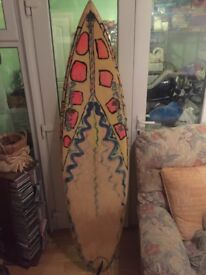 Surfboard 6ft 4inc shapes by roger cooper