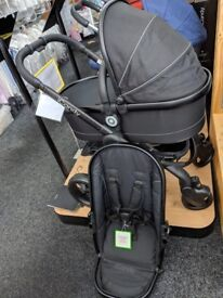 iCandy Peach Travel System in Jet