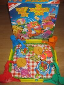 "VINTAGE TYCO ""DON'T BUG ME"" 1994 BLOCK THE BUG GAME - GREAT FUN + FREE £10 STICKER BOOK NOW REDUCED!"
