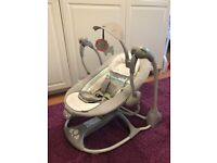 baby swing in great condition