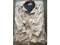 Juicy Couture Women's Cream Trench Jacket