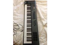 M audio axiom sixty one midi controller keyboard