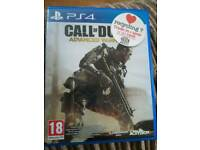 PS4 game Cod advanced Warfare