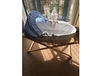 Mothercare Space Dreamer Moses Basket and Stand