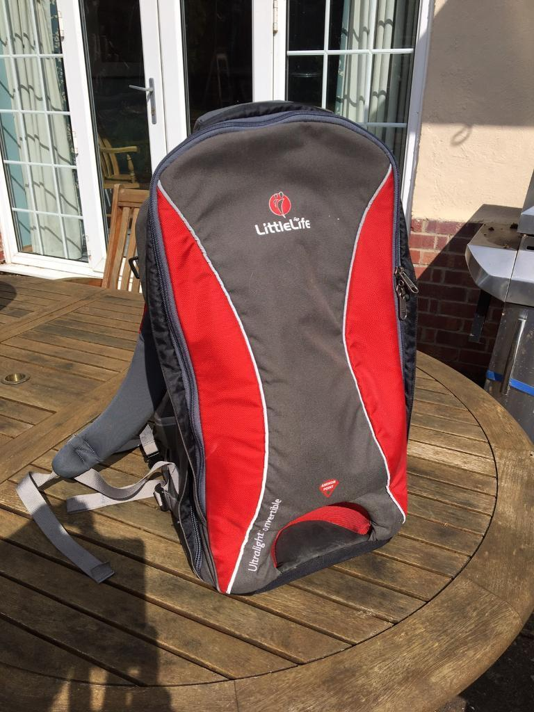 Littlelife toddler baby backpack carrier