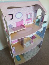 Large wooden dolls house- Kilmarnock