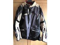 Motorbike jacket size large never worn Oxford montreal