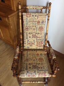 Pair Antique Rocking chairs