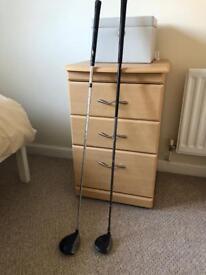 Golf clubs - 5 & 7 wood